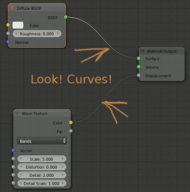 curves in blender node editor